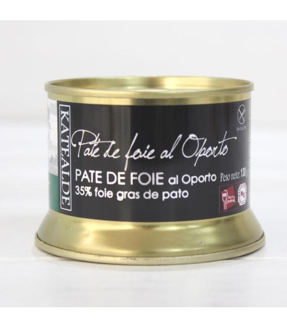 Paté de Foie Gras de Pato al Oporto , 130 grs