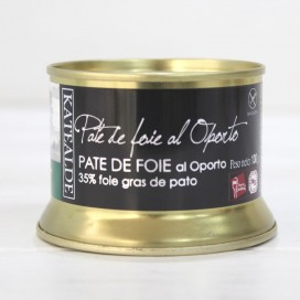 Pate of Duck Foie Gras in a port , 130 grs