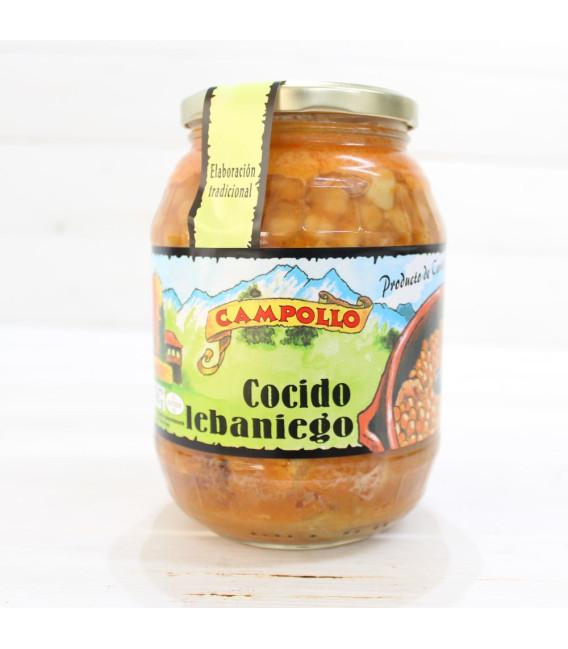 Cocido Lebaniego, der authentisch ist. 950 gramm