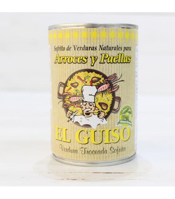 Sofrito Natural para Arroces y Paellas, 420 grs.