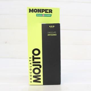 Tableta de Chocolate Artesanal con Mojito 90 grs.