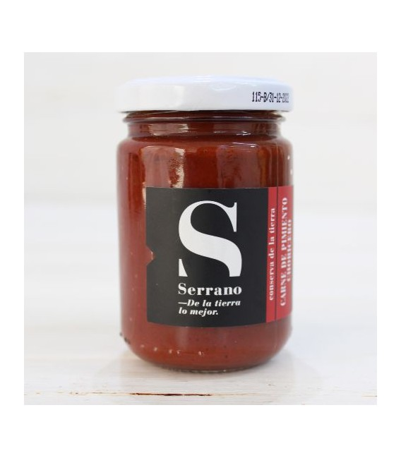 Jar of Meat of the Pepper Choricero 125 grs