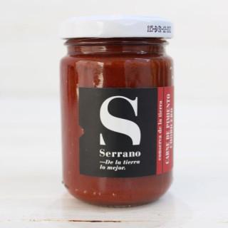 Glas -, Fleisch-Paprika-Chorizo 125 grs