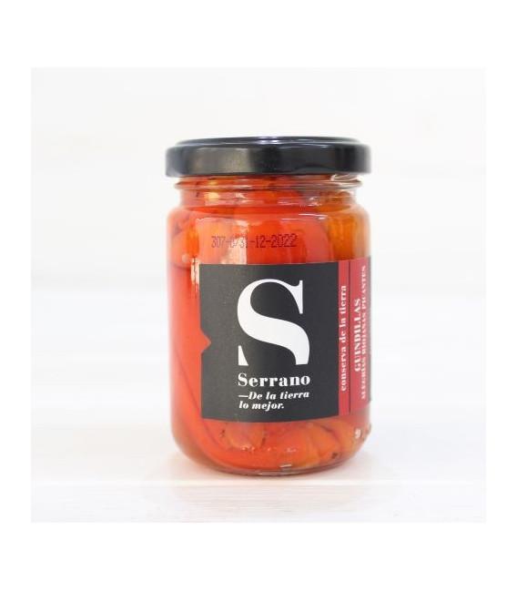 Jar of Chillies and Alegrías Riojanas Spicy, 160 grs