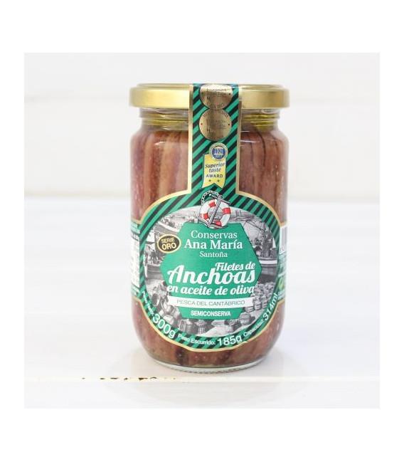 Anchoas en Aceite de Oliva 300 grs. Ana Maria