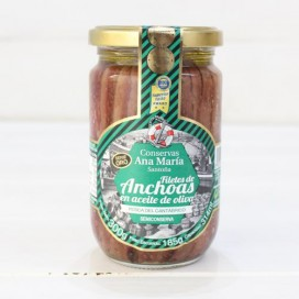 Anchovies in Olive Oil 300 grams Ana Maria