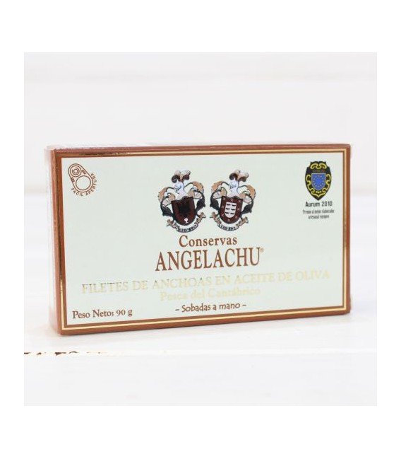 Alici Santoña in Olio di Oliva 90 g Angelachu