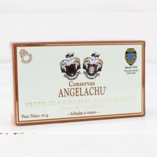 Anchois de Santoña dans l'Huile d'Olive 90 g Angelachu