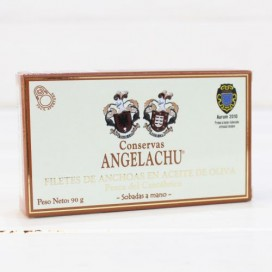 Anchovies from Santoña in Olive Oil 90 g Angelachu
