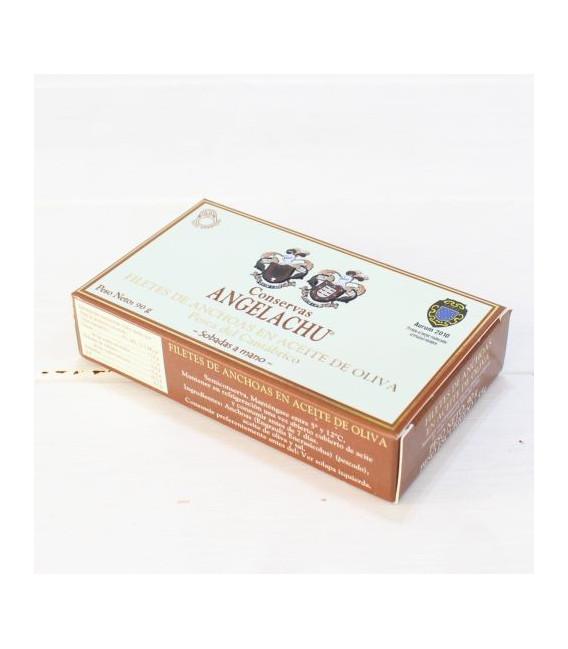 Anchoas de Santoña en Aceite de Oliva 90 grs. Angelachu