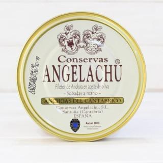 Anchois de Santoña dans l'Huile d'Olive 180 g de Angelachu
