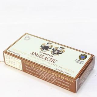 Anchoas de Santoña en Aceite de Oliva 50 grs. Angelachu