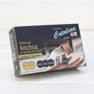 Anchoas de Santoña en Aceite de Oliva 90 grs.  Catalina