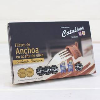 Anchoas de Santoña en Oliva ALTA RESTAURACIÓN 112 grs. Catalina
