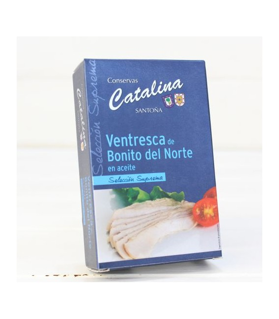 Ventresca de Bonite Choix Suprême 115 g de Catalina