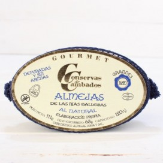Palourdes rias de Galice naturel, 16 - 20 pièces