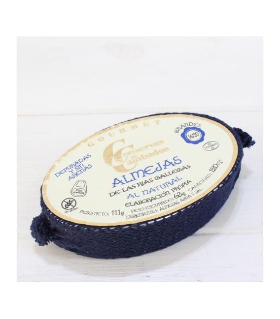 Clams Galician rias natural, 16 - 20 pieces