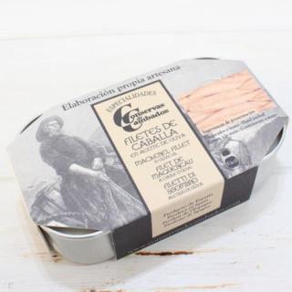 Filets de maquereaux préservé, 115 grammes, de la Galice Rias