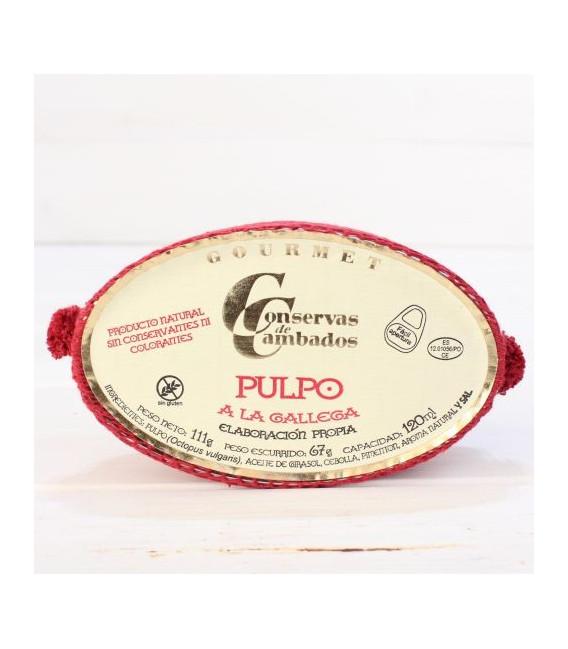 Pulpo a la gallega 120 gr Galizien