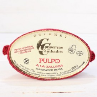 Pulpo a la gallega 120 grs. De Galicia
