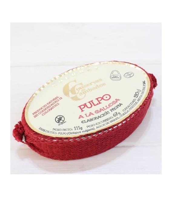 Pulpo 120 grammi Di Galizia