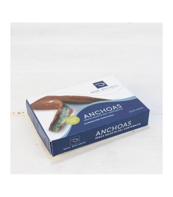 Anchoas de Santoña en Aceite de Oliva 85 grs. Don Bocarte
