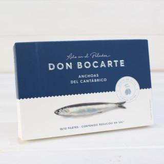 Anchoas de Santoña en AOVE ALTA RESTAURACIÓN 100 grs. Don Bocarte