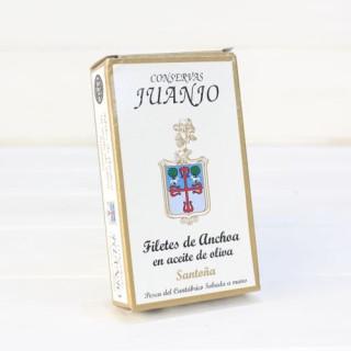 Anchois de Santoña dans l'Huile d'Olive 85 g Juanjo