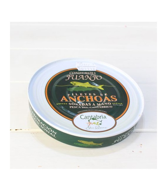 Anchovies from Santoña in Olive Oil 180 g Juanjo