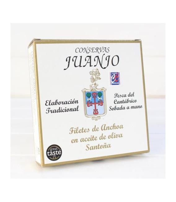 Anchois de Santoña dans l'Huile d'Olive 280 g Juanjo