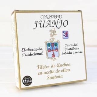 Anchoas de Santoña en Aceite de Oliva 280 grs. Juanjo
