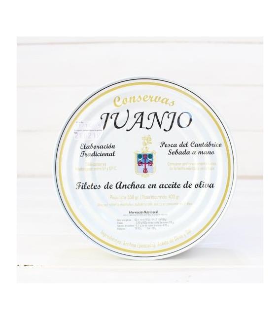 Anchois de Santoña dans l'Huile d'Olive 550 gm Juanjo