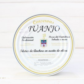 Anchovies from Santoña in Olive Oil 550 gm Juanjo