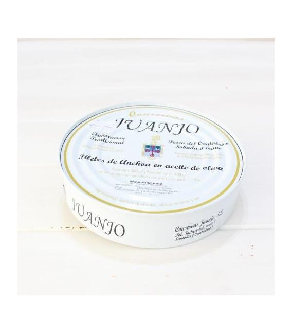 Anchoas de Santoña en Aceite de Oliva 550 grs. Juanjo