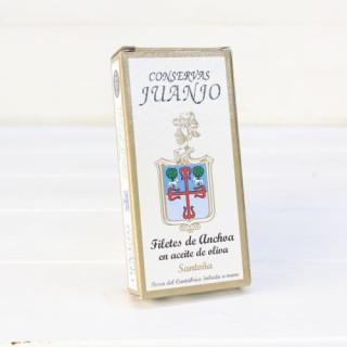 Anchoas de Santoña en Aceite de Oliva 50 grs. Juanjo