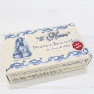 Ventresca of tuna in olive oil, IL NONNO