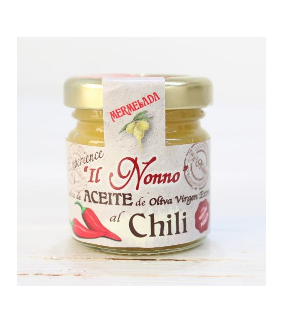 Mermelada de Aceite al Chili, 50 grs