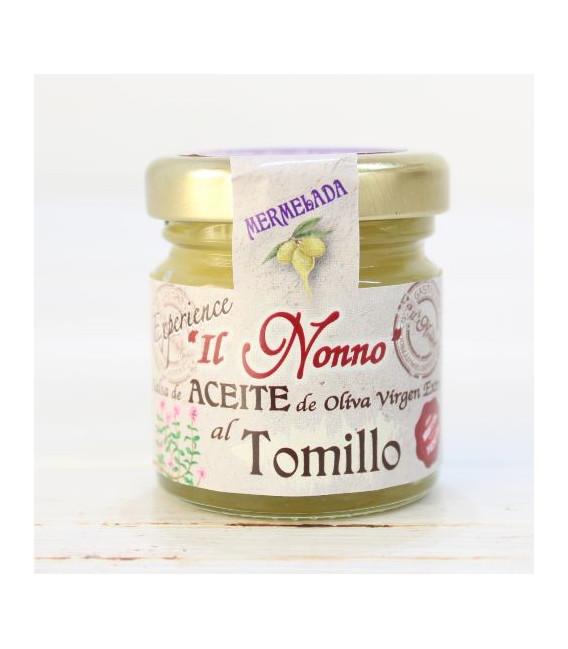 Mermelada de Aceite al Tomillo, 50 grs
