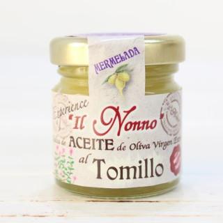 Marmelade, Öl, Thymian, 50 g