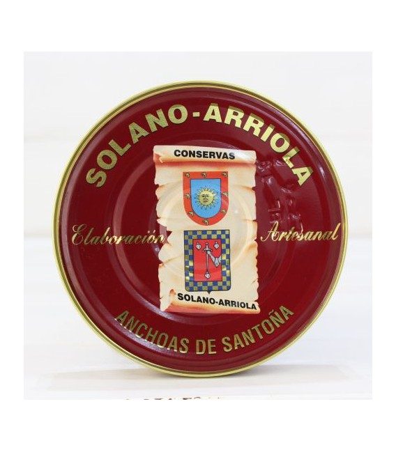 Alici Santoña in Olio di Oliva 180 g Solano Arriola