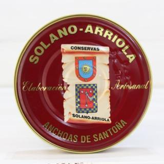 Anchoas de Santoña en Aceite de Oliva 180 grs. Solano Arriola