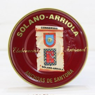 Anchois de Santoña dans l'Huile d'Olive 180 g de Solano Arriola