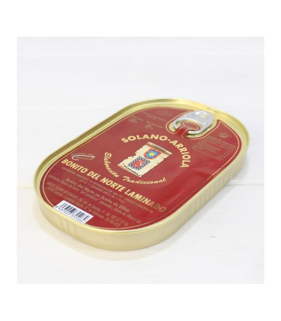 Nice Stratifié dans de l'Huile d'Olive 130 g Solano Arriola