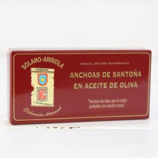 Alici Santoña in Olio d'Oliva 50g di Solano Arriola