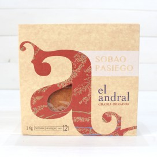 12 Sobaos pasiegos de Cantabria de 1kg