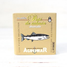 Pate of artisan smoked Salmon, 100 grams