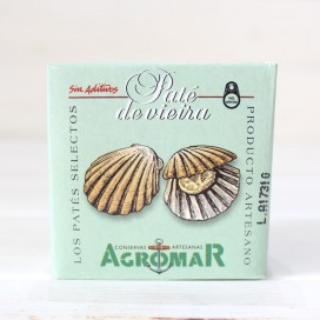 Paté de Vieira artesanal 100 grs