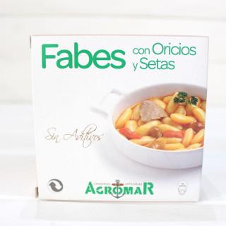 Bohneneintopf mit Bohrungen und Pilze, 420 g