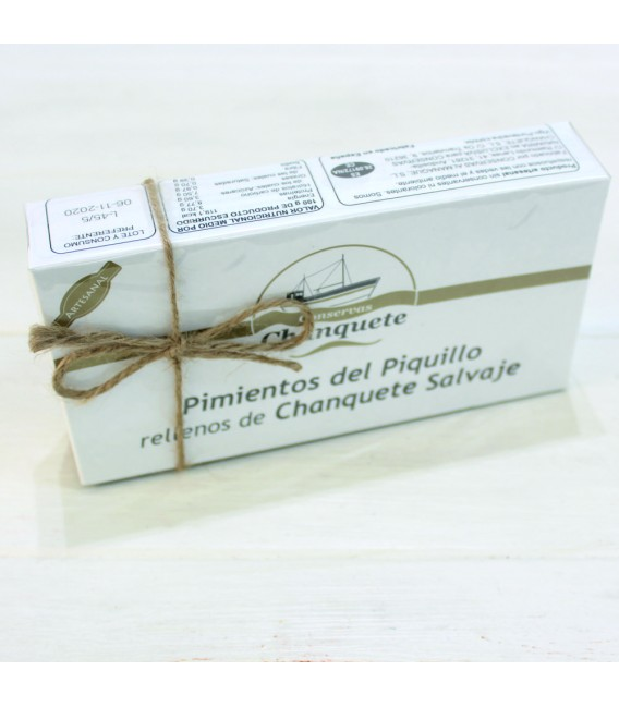 Poivrons du Piquillo obturations de Chanquete sauvage