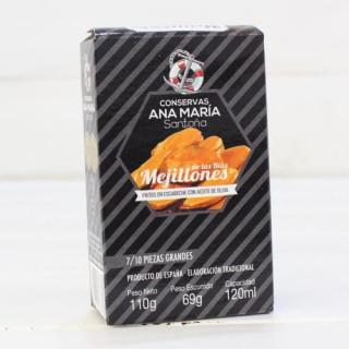 Cozze Fritte in Salamoia 7/10 pezzi di 115 grammi Ana Maria